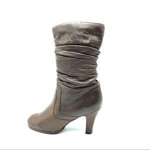 Two Lips Flovia Women's Heeled Leather Boots